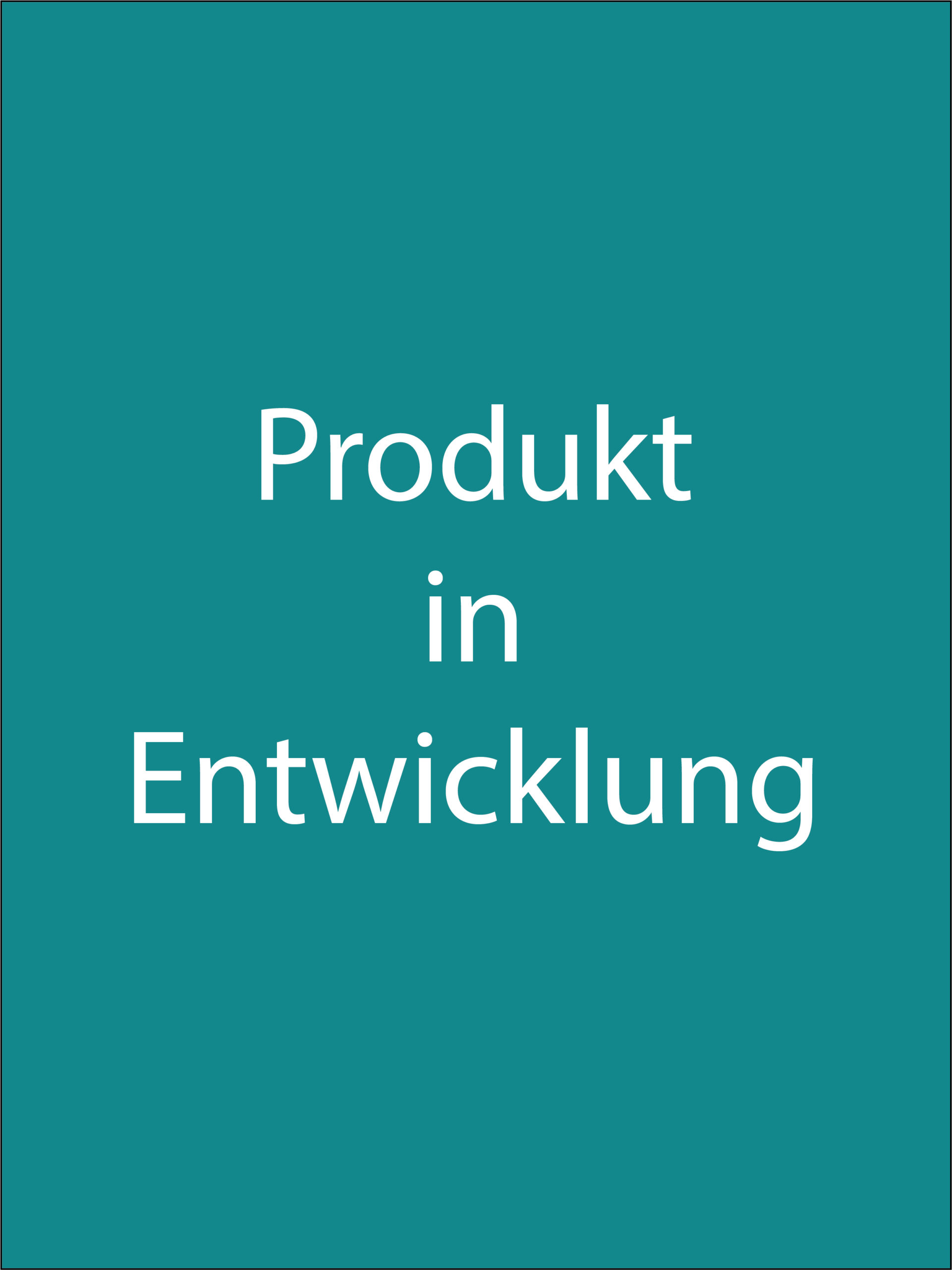In Entwicklung Image